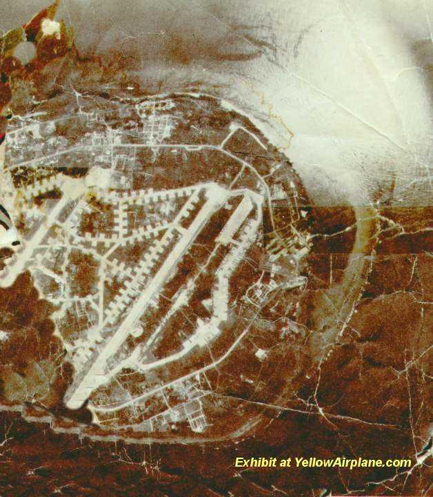 Yellowairplane Com Aerial Photo Of Ie Shima Air Base Near