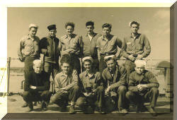 Photo of the Crew of LST-979 in World War Two