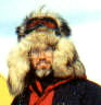 North Pole Expedition 2001 photo of an unknown explorer.