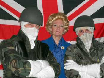 Falkland Islands - Malvinas War in 1982, Actors, Benny, Margaret Thatcher, Wilky