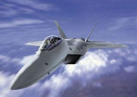 F-22 Raptor Aircraft Stealth Jet Fighter Plane