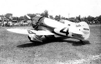 YellowAirplane com: The Gee Bee Airplane Companies Model X Sportster
