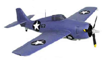 F4F Wildcat WW2 Prop Fighter Airplane