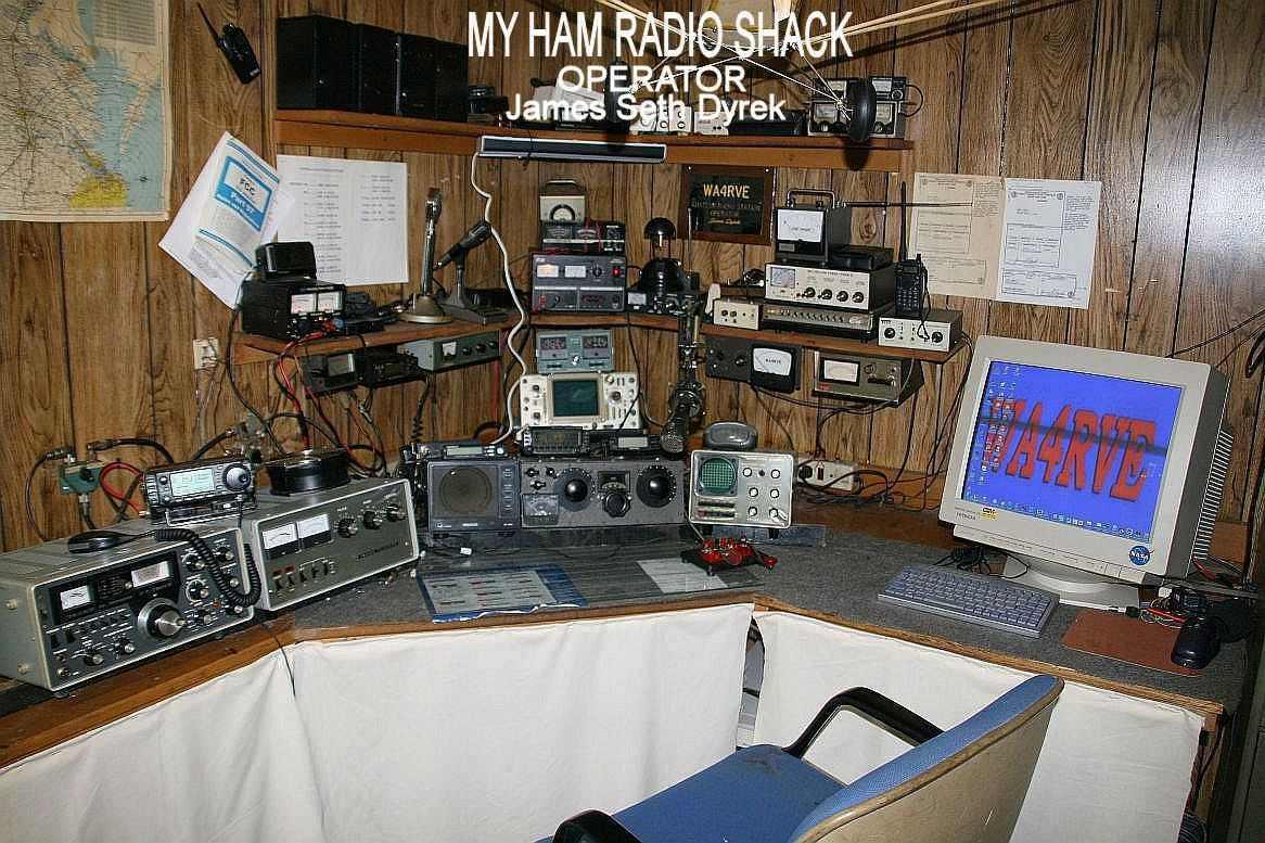 YellowAirplane.com: W9EHUu0026#39;s Ham Radio Shack Web Site