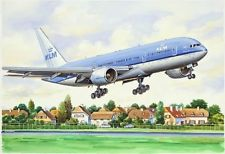BOEING 772 KLM CIVIL AIRLINER