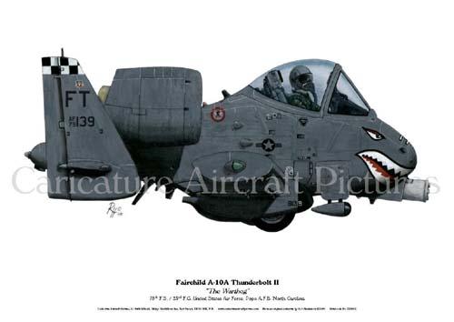 YellowAirplane com: A-10 Warthog (Thunderbolt II) Military