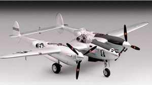 P-38 Lightning WW2 Fighter Aircraft