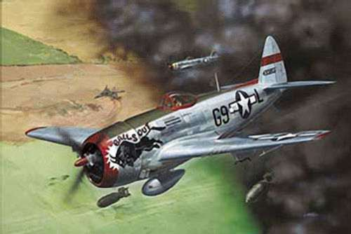 P-47D Thunderbolt 1/48 plastic model kit