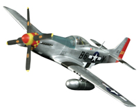 P-51 Mustang Museum Quality Model Airplane Kits