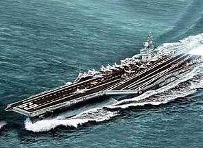 American Aircraft Carrier, the USS Eisenhower CVN-69
