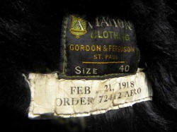 Label, Feb 21 1918 Order 72412   Aero, by Gordon & Ferguson St. Paul Minnesota