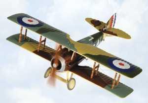 World War 1 Spad Model Aircraft Wwi Plastic Model