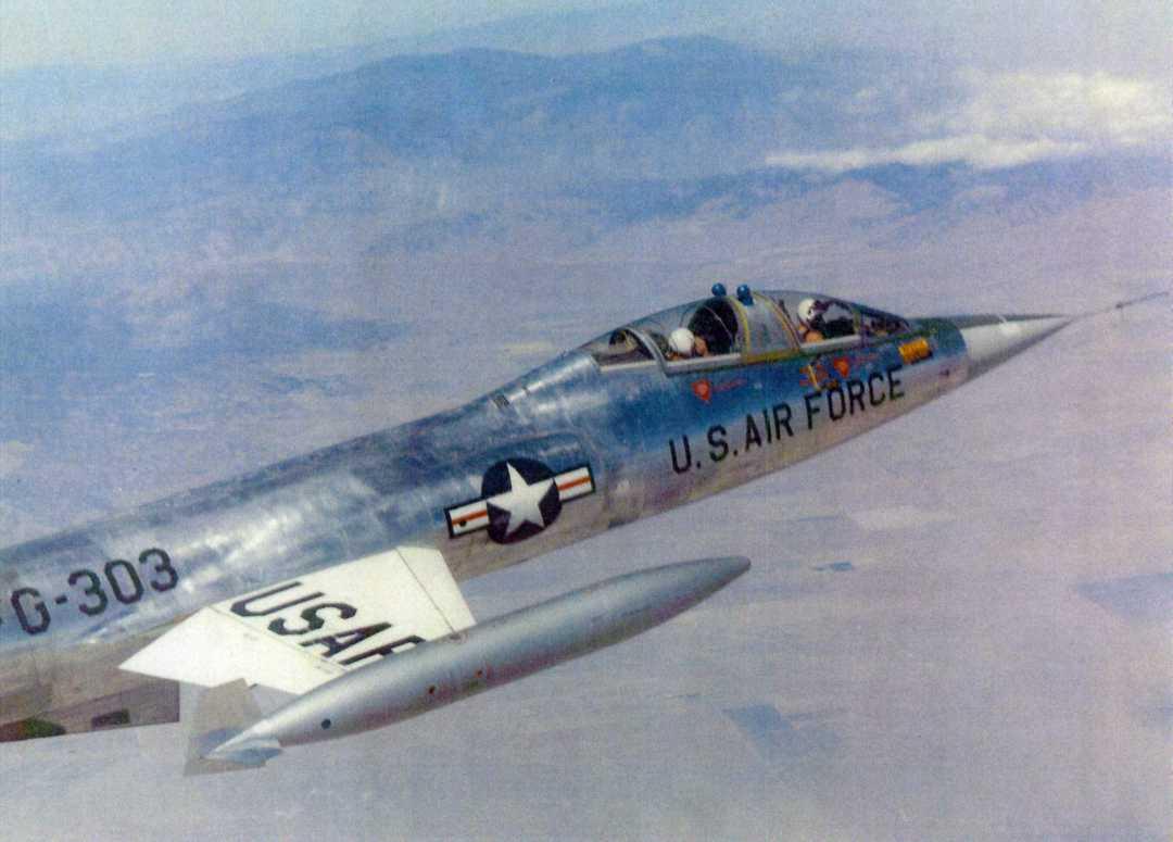 nasa f-104a - photo #42