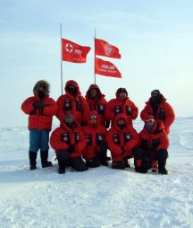 Ski Team Skis the Last Degree to the North Pole