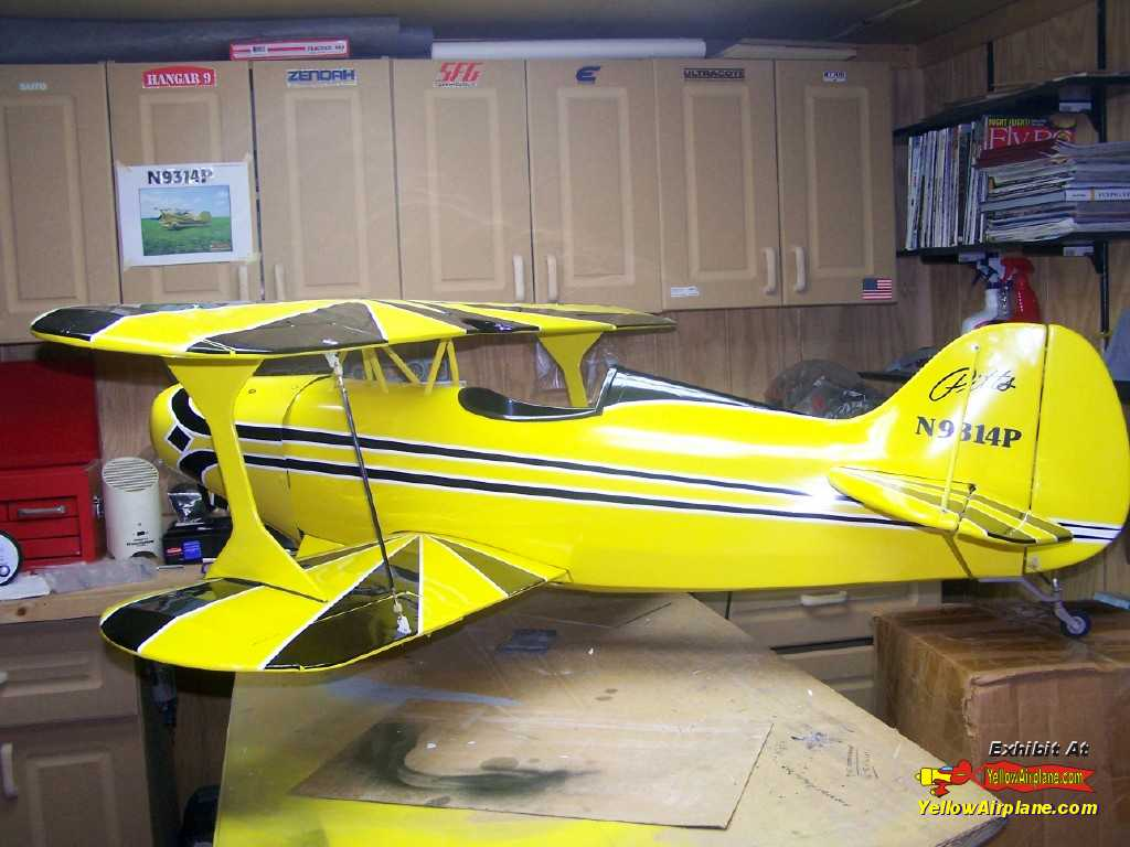 YellowAirplane com: Picture of Jack's Pitts Radio Controlled